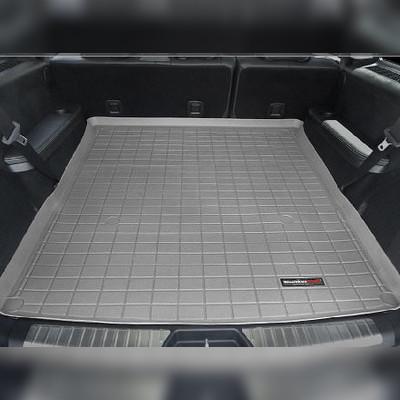 Ковер багажника серый