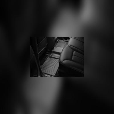 Коврики в салон задние, черные