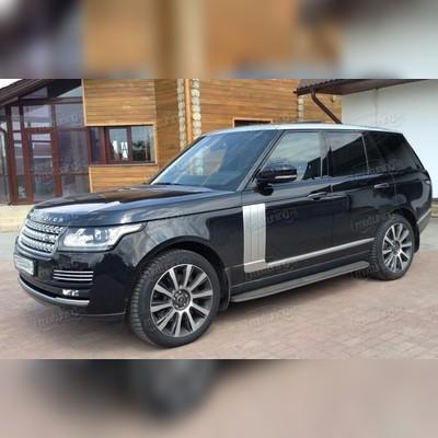 Пороги, подножки, ступени Land Rover Range Rover 2013 - нв (копия оригинала - OEM Style)