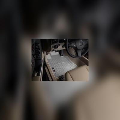Коврики в салон передние серые