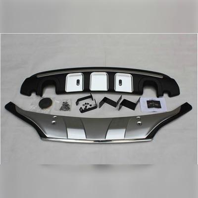 Комплект накладок на передний и задний бампер, для модели с 2012