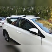 Дефлекторы боковых окон Toyota Rav 4 2013 - 2019 (Sim)