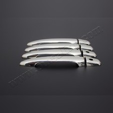 Накладки на дверные ручки Toyota Camry 2006 - 2011 (нержавеющая сталь)