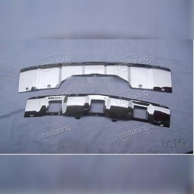 Накладки на передний и задний бампер
