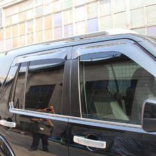 Нижние молдинги стекол Land Rover Discovery 4 2009 - 2015