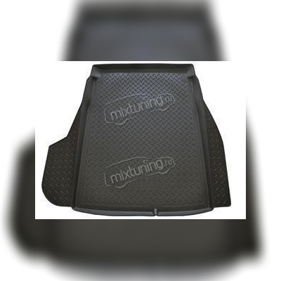 Оригинальный коврик багажника цвет черный полиуретан