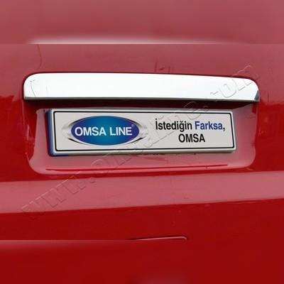 Накладка над номером на крышку багажника Volkswagen T5 2003 - 2015 (1-дверь)