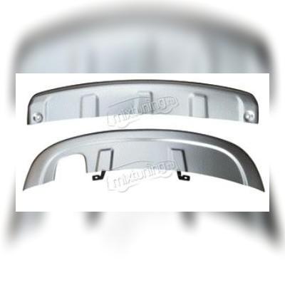 комплект передних и задних алюминиевых защит
