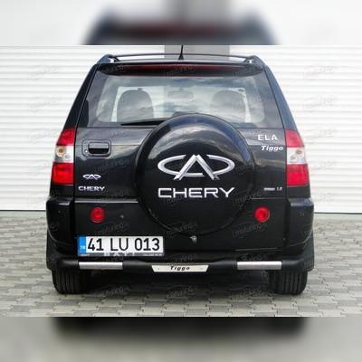 """Защита заднего бампера, модель """"NITRO"""" (60 мм, с логотипом)"""