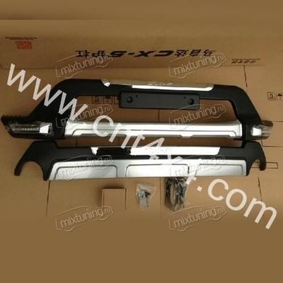 Накладка на передний и задний бампер (пластик)