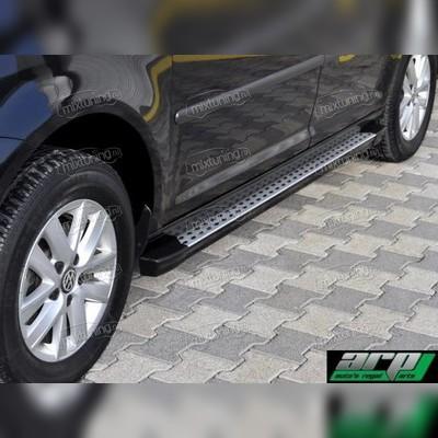 """Комплект алюминиевых порогов, модель """"Kure"""" (BMW стиль)"""