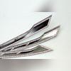 Хромированные накладки на решетку радиатора