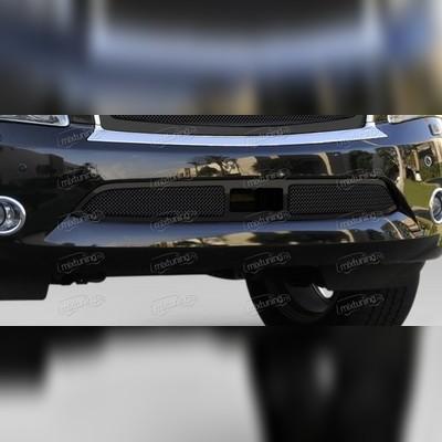 Решетка в передний бампер (черная)