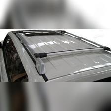 Поперечины на рейлинги аэродинамические Toyota RAV 4 2012 - 2019, Diamond SILVER