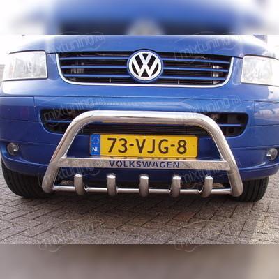 Защита переднего бампера с нижней защитой радиатора