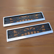 Комплект рамок под номер (без логотипа)