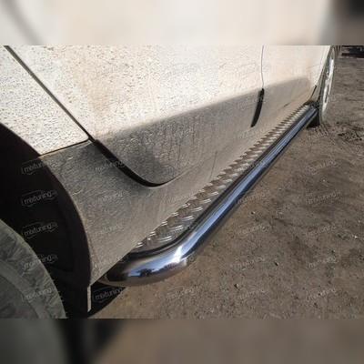 Пороги труба с листом d-60 мм