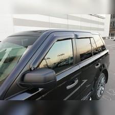 Дефлекторы боковых окон Land Rover Range Rover Sport 2005 - 2012 (темные)
