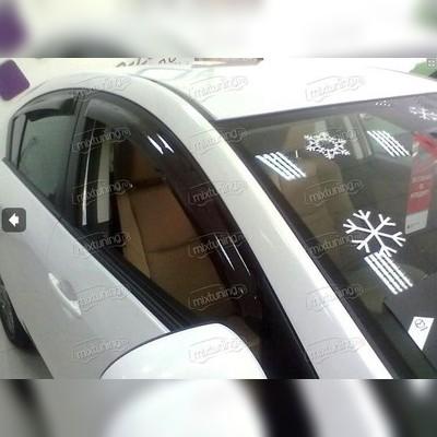 Дефлекторы окон (sedan)