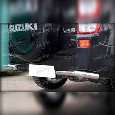 """Защита заднего бампера """"уголки"""" d-60 мм (для 5-и дверного авто)"""