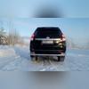 """Защита заднего бампера """"полноразмерная"""" d-76/60мм"""