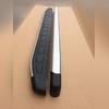 """Комплект алюминиевых порогов с пластмассовой накладкой, модель """"Alyans""""(для короткой и средней базы)"""