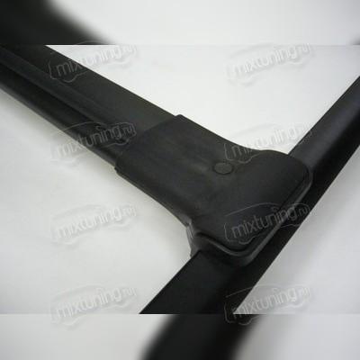 Багажные поперечины для рейлингов (черные)