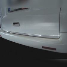 Накладка на нижнюю кромку крышки багажника Volkswagen T5 Multivan 2003 - 2010 (нержавеющая сталь)