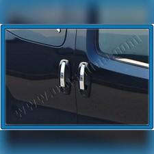 Накладки на дверные ручки (полированная нержавеющая сталь)