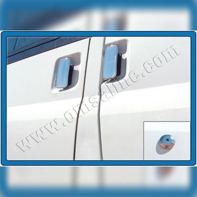 Накладки на дверные ручки (+накладка на замок) для автомобилей с кузовом