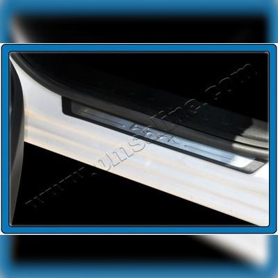 """Накладки на дверные пороги с логотипом модель """"Flexill"""""""