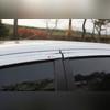 Дефлекторы боковых окон (хром)