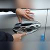 Комплект окантовок дверных ручек (хром)