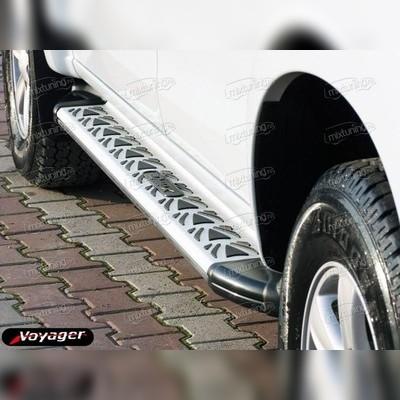 """Комплект алюминиевых порогов, модель """"ASPENDOS"""""""