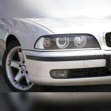 Накладки на передние фары (реснички) BMW 5 (E39) рестайлинг 2001-2004