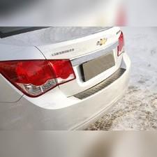 Накладка на задний бампер Chevrolet Cruze I 2009-2011