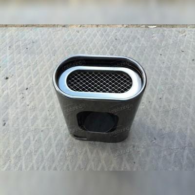Насадки на глушитель (комплект 2 штуки)