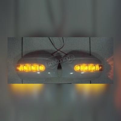 Корпуса зеркал с повторителем поворота