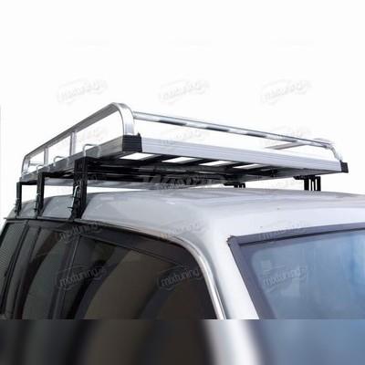 Алюминиевый багажник крыши экспедиционный (160см Х 120см)
