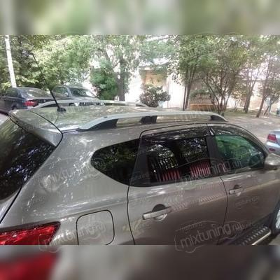 Рейлинги алюминиевые Nissan Qashqai 2006-2013 (серые)