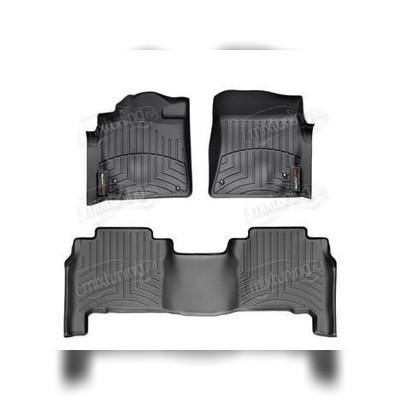 Комплект ковриков в салон (черный)