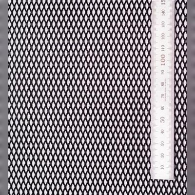 Сетка просечновытяжная черная