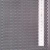 Сетка в бампера и решетку радиатора (алюминиевая, черная)