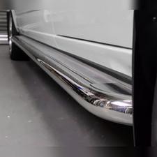 Комплект порогов, 60 мм с листом