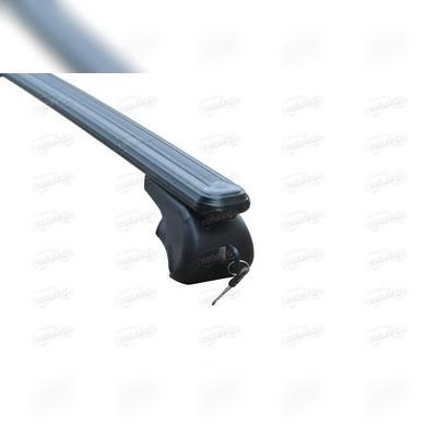 """Комплект регулируемых поперечин на рейлинги, модель """"Bold Bar"""" (с замками, черные)"""