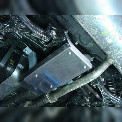 Защита заднего редуктора (алюминий)