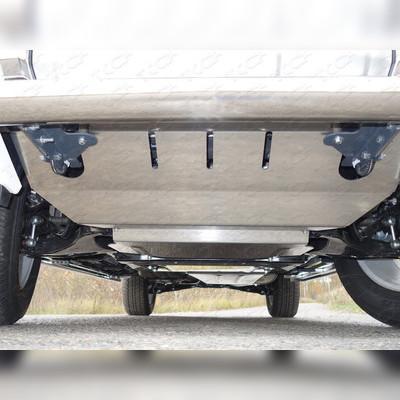 Защита радиатора (алюминий 4мм)