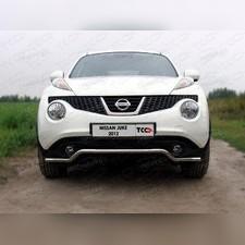 Защита передняя (кенгурин) 42,4 мм Nissan Juke 2010 - 2014