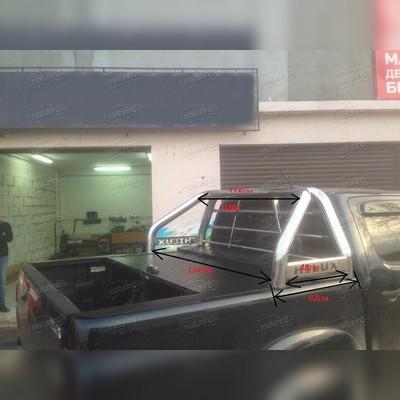 "Защитная дуга в кузов, с логотипом ""HILUX"" D-70мм"