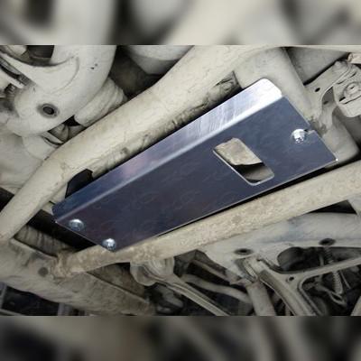 Защита заднего редуктора (алюминий) 4 мм